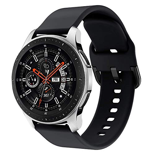 Syxinn Compatibile con 22mm Cinturino Galaxy Watch 46mm Braccialetto Gear S3 Frontier/Classic Silicone Polso Band per Gear S3/Huawei Watch GT/GT 2 46mm/Moto 360 2nd Gen 46mm/Ticwatch PRO
