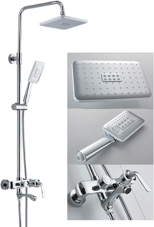 HCCPD Shower Systems Shower Shower Head Set Wall Mounted Shower Set Shower Faucet Systems