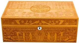 WFPJYD Cigar Humidors, Humidors, Hand-Painted Cigar Humidors (Color : Yellow)