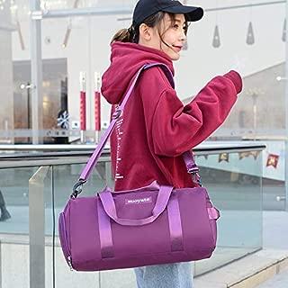 LAGNZ014H Travel Bags Nylon Inclined Shoulder Sports Gym Bag Travel Handbag