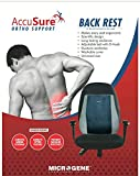 ACCUSURE Backrest Pillow for Office Chairs Memory Foam for Pain Relief & Lumbar Support Back Cushion...