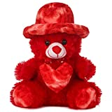 DEALS INDIA Teddy Bear Toy (32 Cm, Red)
