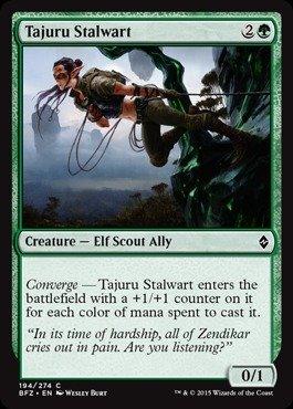 Magic: the Gathering - Tajuru Stalwart (194/274) - Batalla por Zendikar por Magic: the Gathering