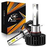 AUXIRACER H1 LED Bombilla Coche, 60W 12000LM 6500K Lámpara Blanca IP65 Impermeable Luces antiniebla, Automóvil de 12V...