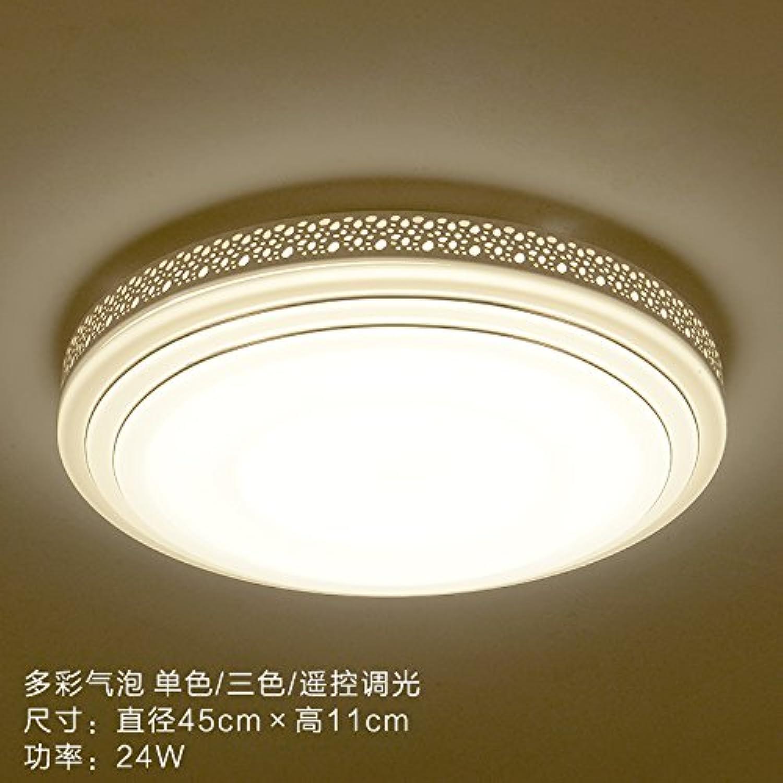XMINL LED Deckenleuchten modern minimalistisch kreisfrmig Flur Küche Wohnzimmer Master Schlafzimmer Kinderzimmer Balkon Lichter,24W Weiß light