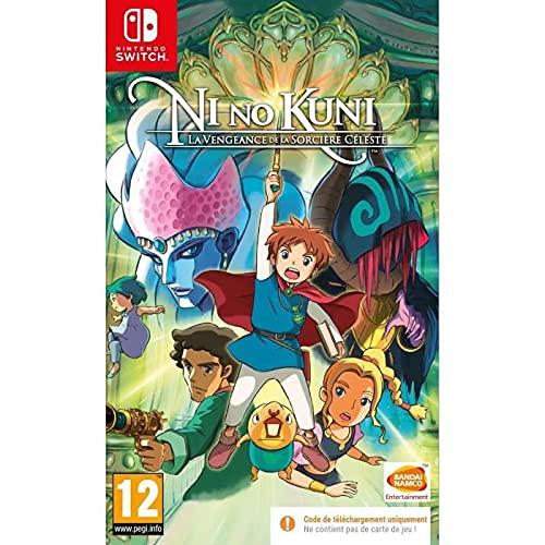 Ni No Kuni : La Vengeance de La Sorciere Celeste Code In The Box (Nintendo Switch)