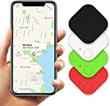Kimfly Key Finder Smart Tracker (Gen II 4Pack) Item Finder Locator Phone Finder Bluetooth Smart Tag