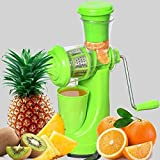 TWINSWA® Hand Juicer Fruit and Vegetable Juicer with Steel Handle with Vacuum Locking System, Good...