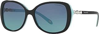 Authentic Tiffany & Co.TF4121B Womens Sunglasses 55mm + Glasses Care Kit