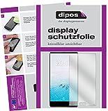 dipos I 2X Schutzfolie klar kompatibel mit Ulefone F1 Folie Bildschirmschutzfolie