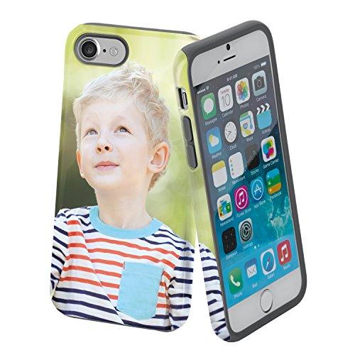 Handyhülle mit Foto für iPhone 8 mit Stoßschutz | Smartphone Hülle mit eigenem Bild gestalten | Handycase als individuelle Geschenkidee
