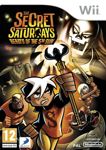 The Secret Saturdays: Beasts of the 5th Sun [Edizione: Regno Unito]