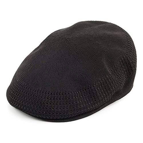 Kangol Casquette Plate en Tropic 504 Ventair Noir Large