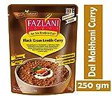 FAZLANI ALIMENTOS Listo para comer Dal Makhani -Negro Gram lentejas al curry, -Pack de 1, 250gm