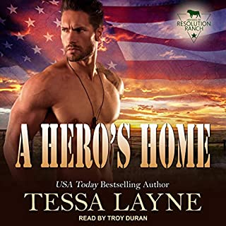 A Hero's Home     Resolution Ranch (Heroes of Resolution Ranch, Book 4)              Written by:                                                                                                                                 Tessa Layne                               Narrated by:                                                                                                                                 Troy Duran                      Length: 4 hrs and 33 mins     Not rated yet     Overall 0.0