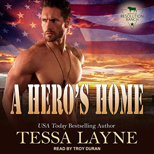 A Hero's Home audiobook cover art