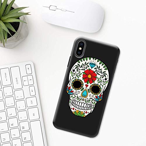 Mexiko (Tag der Toten) iPhone Hülle XR 11 X XS MAX Pro 8 7 Plus 6 6s 5 5s SE 2020 10 Plastik Silikon Apple iPhone phone case Azteken Schädel halloween Mexikanische festival Maske