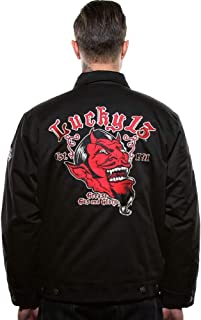 Lucky 13 Men's Apparel Grease, Gas & Glory Jacket