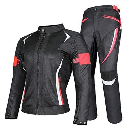 Mujeres Motocicleta Chaqueta de Invierno Pantalones Impermeable Ropa Ropa Traje Racing Summer...