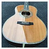 Guitarra Guitarra acústica clásica de Guitarra acústica eléctrica 39'Cedar sólido Top Parlor Acoustic Guitar Guitarra de Madera AMINÍ