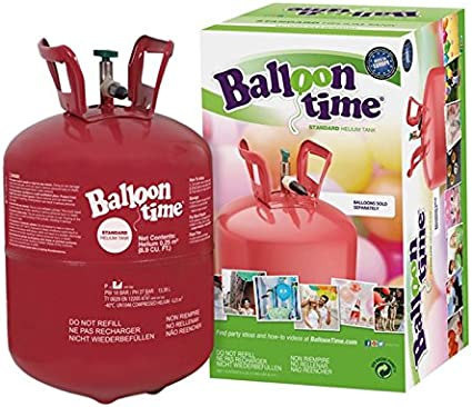 Botella de helio 0.25M3 para 30 globos