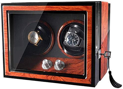 SLM-max El Reloj mecánico automático de la devanadera, 2 + 0 Independiente...