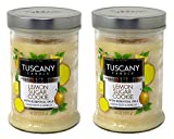 Tuscany Candle 18oz Scented Candle, Lemon Sugar Cookie 2-Pack