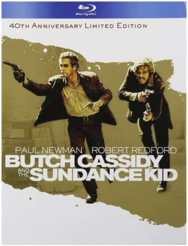 Butch Cassidy and the Sundance Kid Blu ray Book product image