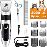 Best Pet Clippers - Bonve Pet Dog Clippers, Dog Grooming Kit Quiet Review