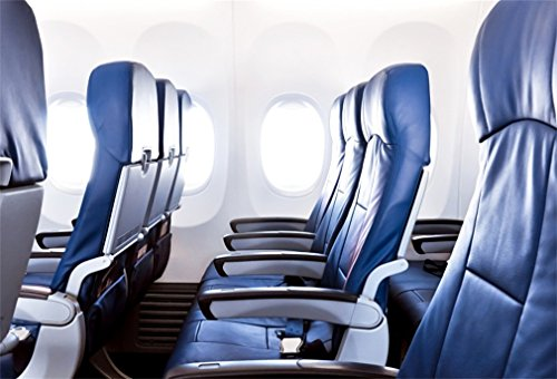 YongFoto 2,2x1,5m polyester foto achtergrond vliegtuig kabine zacht lederen stoel binnenop reis fotografie achtergrond voor fotoshooting portretfoto's party kinderen bruiloft fotostudio rekwisieten