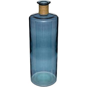 Vase /épaule en Verre de Couleur Verte H 40 cm Atmosphera