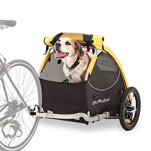 Burley Design Tail Wagon Bike Trailer, Yellow/Black