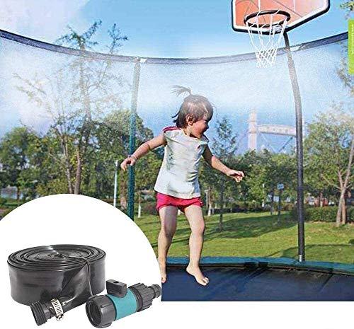 De riego al Aire Libre for niños, 39,4ft Accesorios de Verano Waterpark Juguetes for Niños con Atadura de Cables, Sistema de rociadores de Agua de la Manguera del Partido Juegos