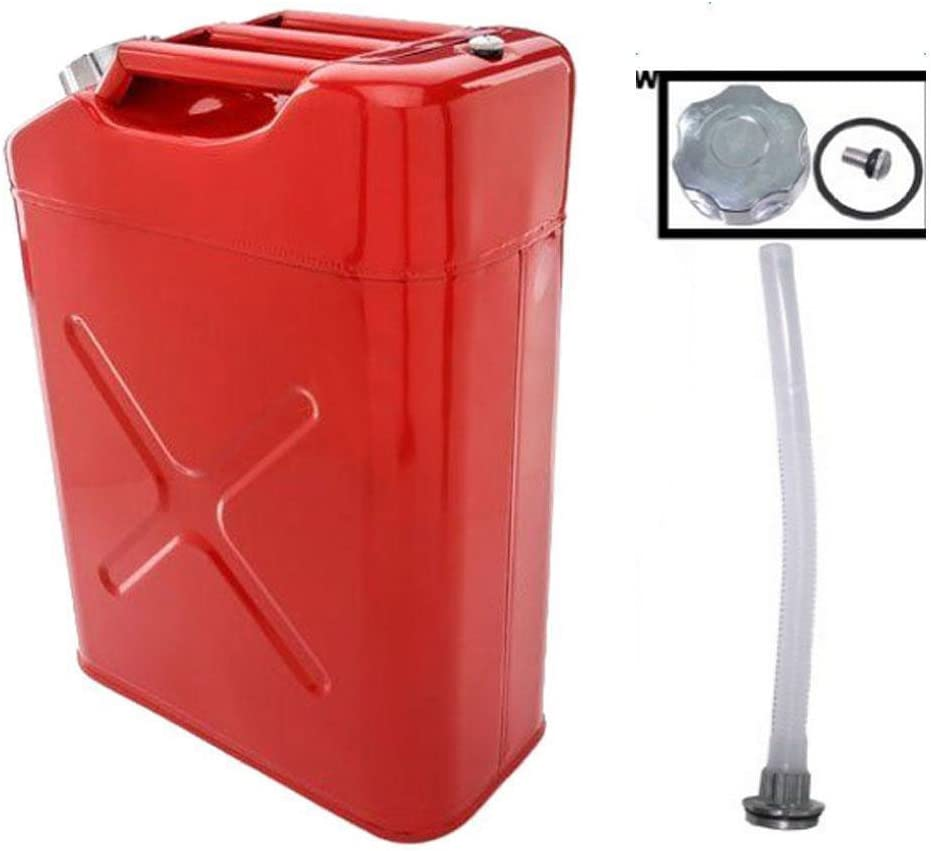 Cimiva 20L 5 Gallon Gas Can Plate Petrol Sale US Standard Cold-Rolled National products