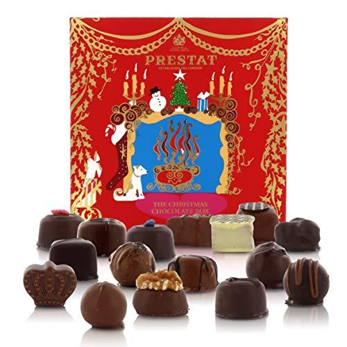 Confezione Regalo Per Natale Con 16 Praline Assortite Inglesi - The Red Christmas Box