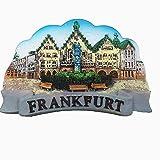 Frankfurt Deutschland 3D Kühlschrankmagnet Tourist Souvenir Geschenk & Sammlung Heim & Küche Dekoration Magnetaufkleber Frankfurt Deutschland Kühlschrankmagnet