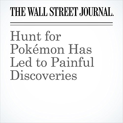 Hunt for Pokémon Has Led to Painful Discoveries audiobook cover art
