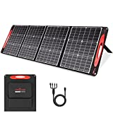ROCKPALS Portable Solar Panel 200W/18V/36V - QC 3.0&Type C Output with Kickstand, Foldable Solar Charger for Jackery Explorer/ROCKPALS/Paxcess Portable Solar Power Station Generator and USB Devices