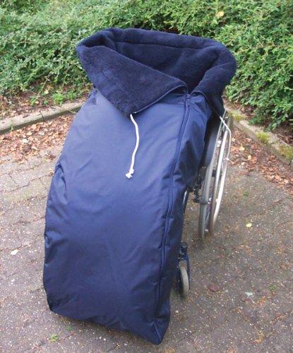 Webpelz Schlupfsack für Rollstuhlfahrer Kind II