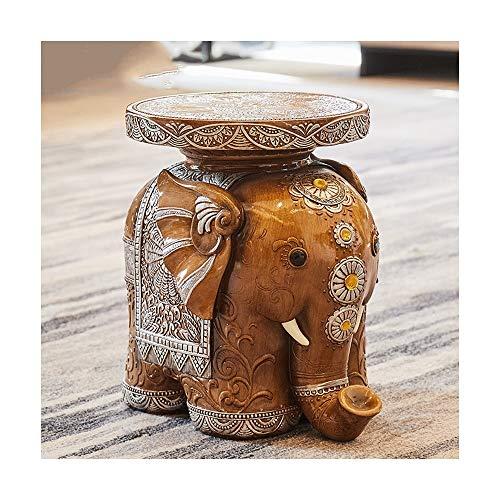 LYQZ Los zapatos del elefante cambian los zapatos del taburete La decoración del taburete Mueve el nuevo hogar Prácticas decoraciones for el hogar El pequeño taburete del elefante se mudó al nuevo hog