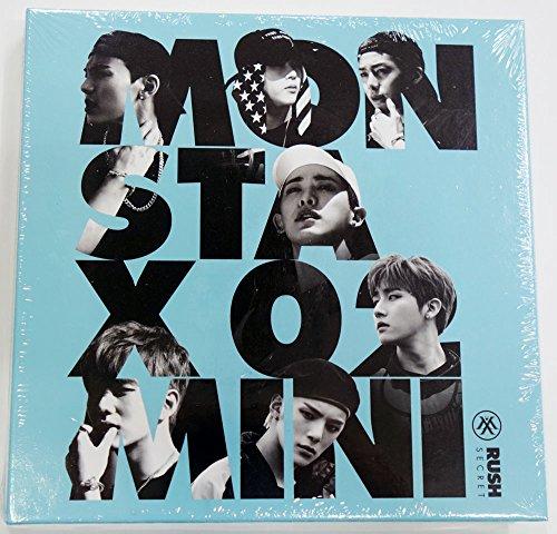 Starship Entertainment Monsta X - Rush (2nd Mini Album) [Secret ver.] CD + Photo Booklet + Photocard + Extra Photocards Set