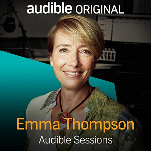 Emma Thompson audiobook cover art
