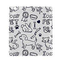 ブックカバー a5 犬 ねこ 骨 かわいい 文庫 PUレザー ファイル オフィス用品 読書 文庫判 資料 日記 収納入れ 高級感 耐久性 雑貨 プレゼント 機能性 耐久性 軽量16x22cm