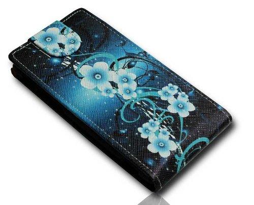 Handy Tasche Flip Style - Design No.4 - Cover Hülle Hülle Etui für Huawei Ascend G525