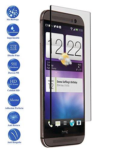 Todotumovil Protector de Pantalla HTC One M8 de Cristal Templado Vidrio 9H para movil