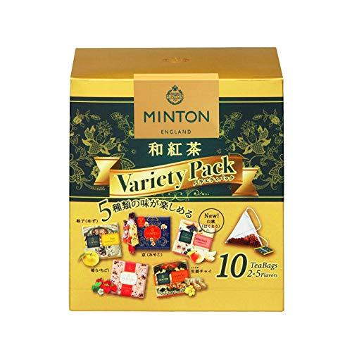 ミントン和紅茶バラエティパック×3箱ティーバッグ
