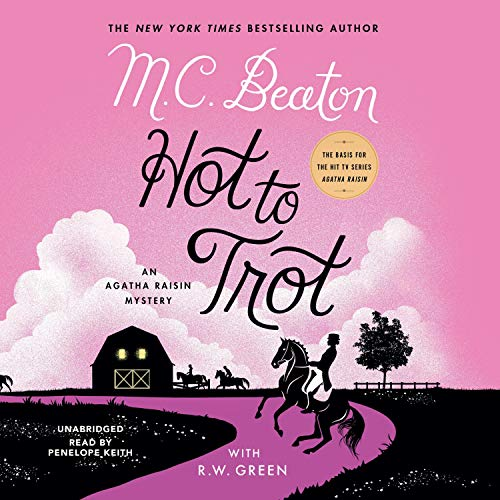 Hot to Trot Audiobook By M. C. Beaton cover art