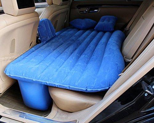 YL Auto Drehmaschine Auto Aufblasbare Bett Maschine Bett Gitter Geschnitzte Matratze Auto Reise Bett Bett,Blau,135 * 90 * 45cm