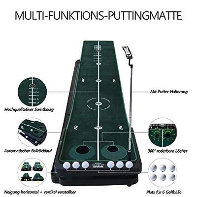 PGM Golf Puttingmatte verstellbare