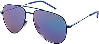 3a2af642c21 Yves Saint Laurent CLASSIC 11 RAINBOW 005 55mm Blue   Blue Sunglasses